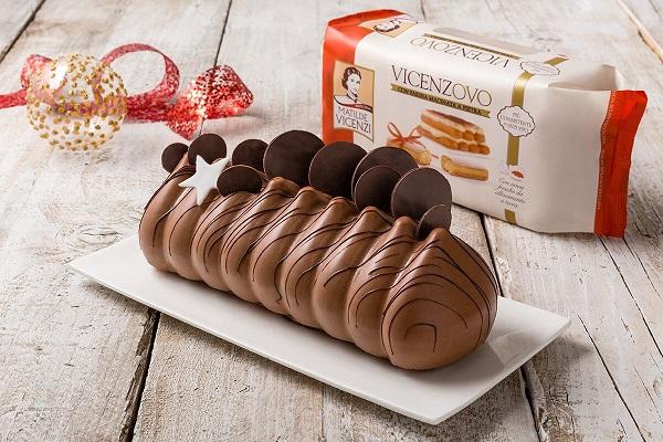 Tronchetto al cioccolato e arancia