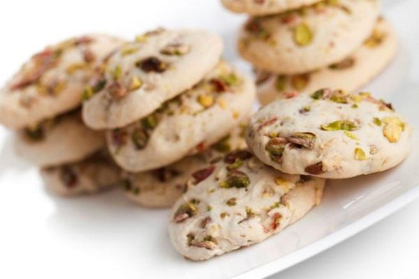 Cookies al pistacchio