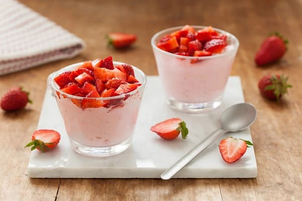 Mousse di fragole