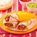 Burrito ripieno di carne di manzo