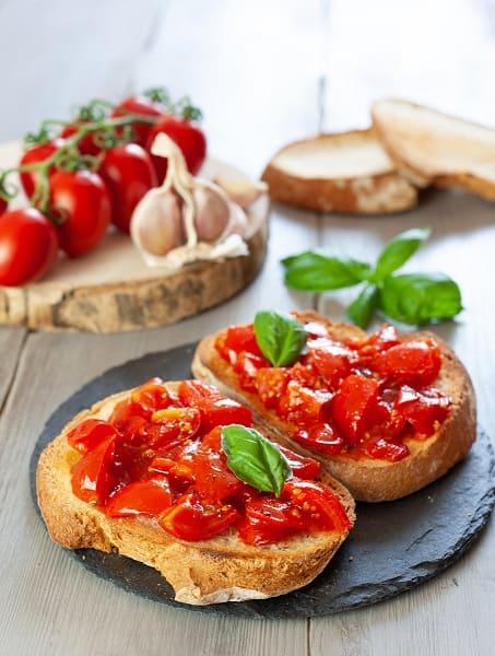 Bruschette al pomodoro